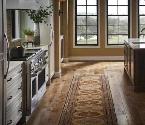 Eclectic Farmhouse Kitchen Rug