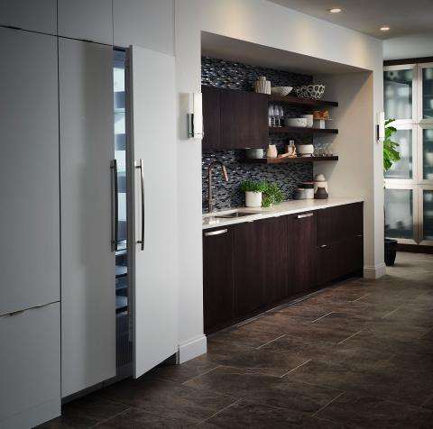 Modern Kitchen Refrigerator Columns
