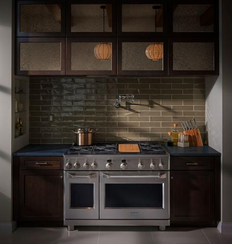 Rustic Kitchen Professional Range